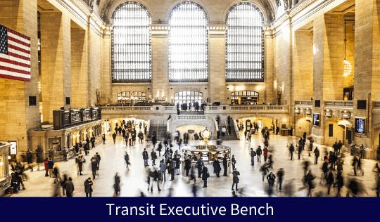 Transit Executive Bench